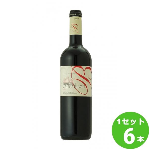 スマイル ボルドー ド モーカイユ Le Bordeaux de Maucaillou 750ml ×6本 フランス/ボルドー ワイン【送料無料※一部地域は除く】