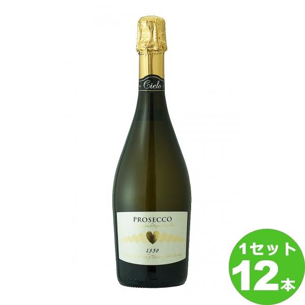 [ママ割5倍]スマイル チェッロ プロセッコ ブリュット Cielo Prosecco Brut スパークリング スパークリングワイン イタリア/ヴェネト750ml×12本(個) ワイン