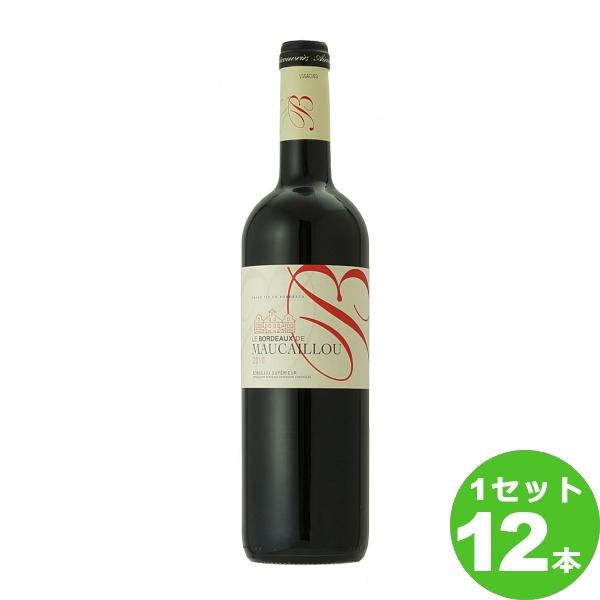 スマイル ボルドー ド モーカイユ Le Bordeaux de Maucaillou定番  750ml ×12本 フランス/ボルドー ワイン