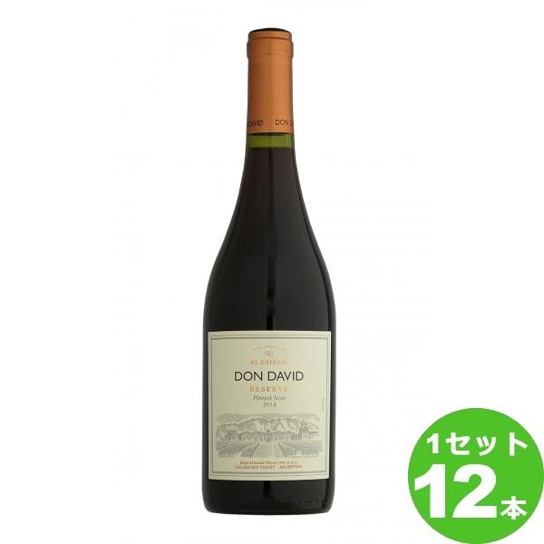 スマイル ドンダビ ピノ・ノワール レゼルバ Don David Pinot Noir Reserve定番  750ml ×12本 アルゼンチン/カルチャキ・ヴァレー ワイン【送料無料※一部地域は除く】【取り寄せ品 メーカー在庫次第となります】