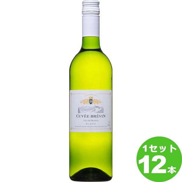 盛田トレーディング キュヴェ ブレヴァンブラン 迅速な対応で商品をお届け致します ド ブラン フランス 個 ワイン ロワール ×12本 予約 750ml