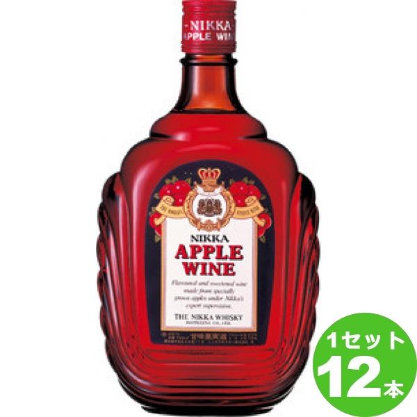 【200円クーポン&ママ割5倍】アサヒ アップルワイン 720ml×12本(個) ワイン※