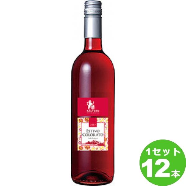 [ママ割5倍]アサヒ エスティヴォ・コロラートESTIVO COLORATO 赤ワイン イタリア アルト・アディジェ750 ml×12本(個) ワイン