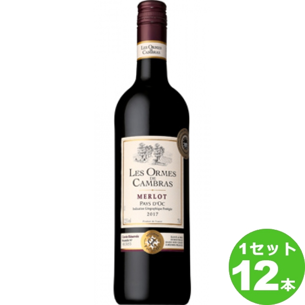 レゾルム ド カンブラス メルロ 赤ワイン フランス750ml×12本(個) ワイン※送料無料 の判別は下記【すべての配送方法と送料を見る】でご確認できます