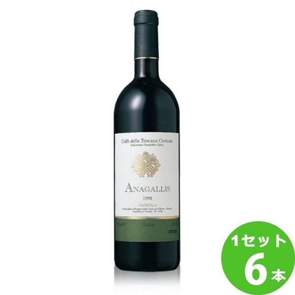[ママ割5倍]テヌータ・ディ・リリアーノアナガリスAnagallis 750 ml ×6本 イタリア  サッポロビール