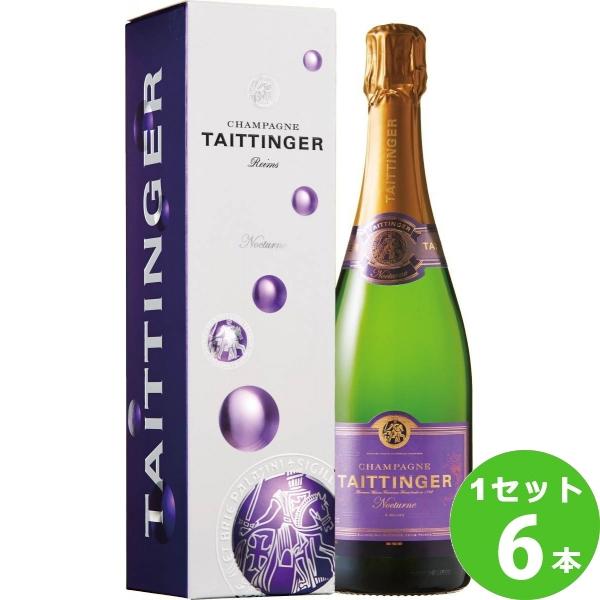 テタンジェノクターンNocturne 白ワイン フランス 750ml ×6本 ワイン【送料無料※一部地域は除く】