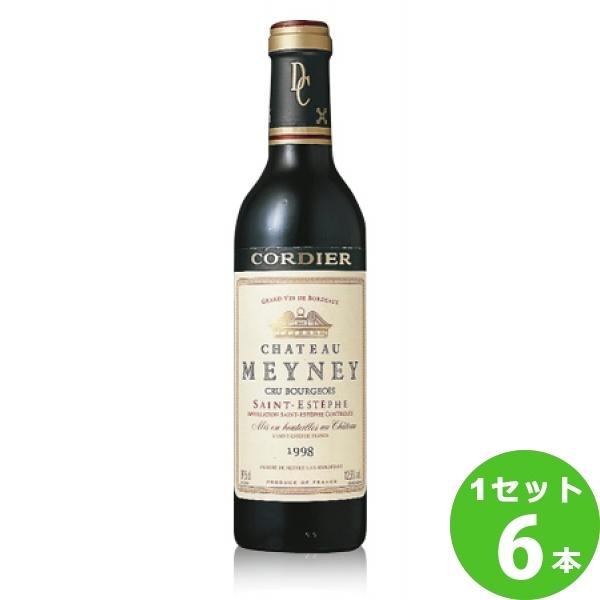 サッポロ シャトー・メイネイシャトー・メイネイ1999Ch.Meyney定番 赤ワイン フランス ボルドー375 ml×6本(個) ワイン ワイン