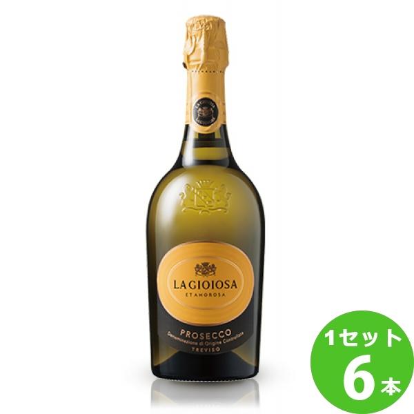 ラ ジョイヨーザプロセッコ 売却 ディ トレヴィーゾProseccoDiTreviso 割引も実施中 750ml イタリア ×6本 送料無料※一部地域は除く ビール ワイン
