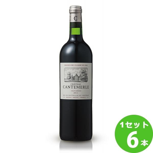 サッポロ シャトー・カントメルルシャトー・カントメルルCantemerle定番 赤ワイン フランス ボルドー750 ml×6本(個) ワイン