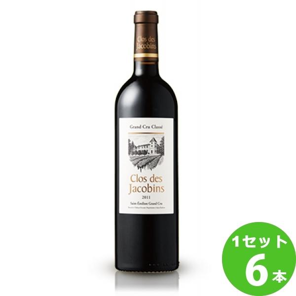 サッポロ クロ・デ・ジャコバンクロ・デ・ジャコバンClosdesJacobins定番 赤ワイン フランス ボルドー750 ml×6本(個) ワイン