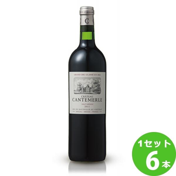 サッポロ シャトー・カントメルルシャトー・カントメルルCh.Cantemerle定番 赤ワイン フランス ボルドー750 ml×6本(個) ワイン※送料無料 の判別は下記【すべての配送方法と送料を見る】でご確認できます