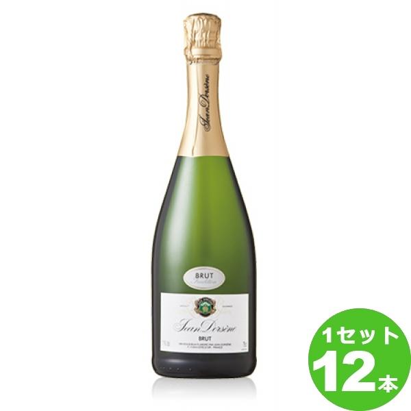 ソレヴィジャン・ドルセーヌ・ブリュJeanDors`eneBrut定番 750 ml ×12本 フランス  サッポロビール ワイン【送料無料※一部地域は除く】【取り寄せ品 メーカー在庫次第となります】