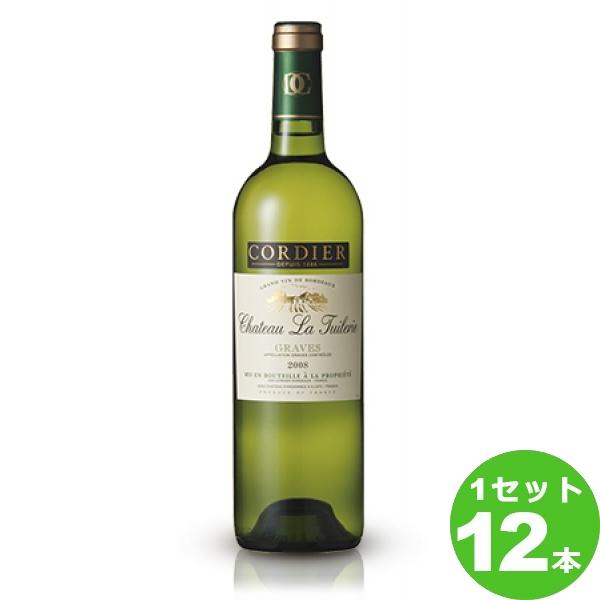 【200円クーポン&ママ割5倍】サッポロ コーディアシャトー・ラ・チュイルリー〈白〉CheateauLaTuilerieBlanc定番 白ワイン フランス ボルドー750 ml×12本(個) ワイン
