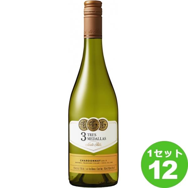 スリー メダルズ シャルドネ 白ワイン チリ 750ml ×12本 ワイン【送料無料※一部地域は除く】