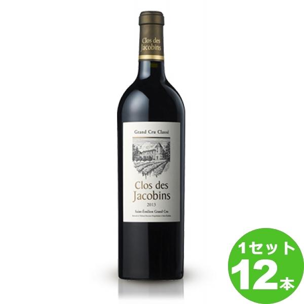 サッポロ クロ・デ・ジャコバンクロ・デ・ジャコバンClosdesJacobins定番 赤ワイン フランス ボルドー750 ml×12本(個) ワイン