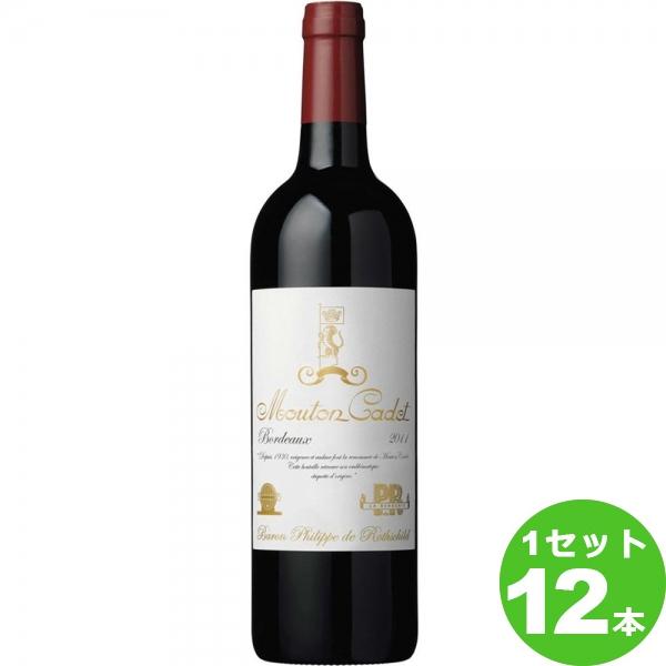 [ママ割5倍]エノテカ ムートン・カデ・クラシック 赤ワイン フランス/ボルドー750ml×12本(個) ワイン