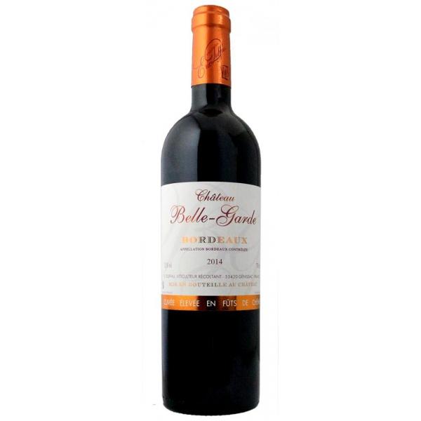 シャトー ベル-ガルド エルヴェ アン フュ ド シェーヌCHATEAU BELLE-GARDE BORDEAUX ROUGECUVEE ELEVEE EN FUTS DE CHENE アグリ 750ml ×1本 フランス/ボルドー アグリ ワイン