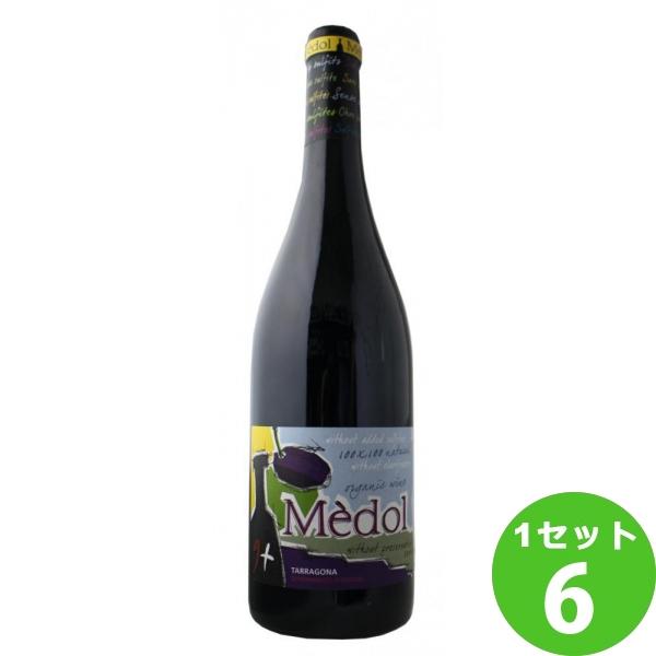 メドル カルトイシャ オーガニック 【限定品】MEDOL CARTOIXA ORGANIC SO2 FREE アグリ 750ml ×6本 スペイン/タラゴナ アグリ ワイン【送料無料※一部地域は除く】【取り寄せ品 メーカー在庫次第となります】