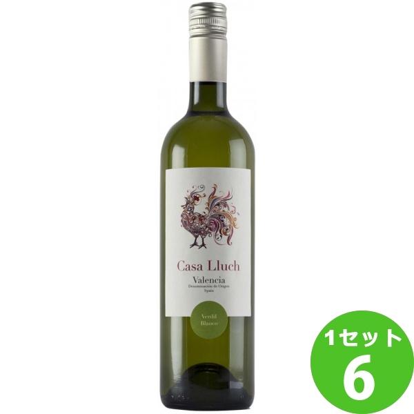 カーサ ユーク ヴェルディル オーガニックCASA LLUCH VERDIL ORGANIC アグリ 750ml ×6本 スペイン/バレンシア アグリ ワイン
