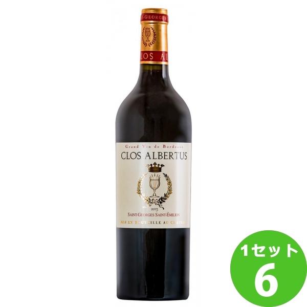 クロ・アルベルチュス・ルージュCLOS ALBERTUS ROUGE アグリ 750ml ×6本 フランス/ボルドー アグリ ワイン【送料無料※一部地域は除く】【取り寄せ品 メーカー在庫次第となります】