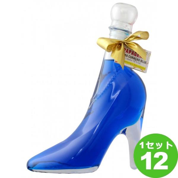 シンデレラシュー ガラスの靴 ブルー キュラソーCINDERELLA'S SHOE VODKA CURRACAO LIQUEUR アグリ 350ml ×12本 オーストリア/ザルツブルグ アグリ※送料無料 の判別は下記【すべての配送方法と送料を見る】でご確認できます