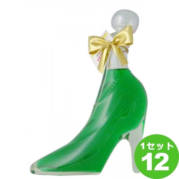 [ママ割5倍]シンデレラシュー ガラスの靴 キウイフルーツCINDERELLA'S SHOE KIWI FRUIT LIQUEUR アグリ 350ml ×12本 オーストリア/ザルツブルグ アグリ