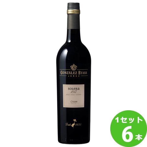 ソレラ 1847 750ml びん×6本(個)スペイン/南部地方メルシャン ワイン【送料無料※一部地域は除く】【取り寄せ品 メーカー在庫次第となります】