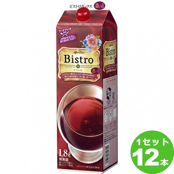 ビストロ ペットボトル 濃い赤 1800ml 紙×12本(個)日本メルシャン※送料無料 の判別は下記【すべての配送方法と送料を見る】でご確認できます