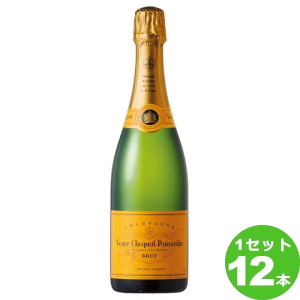 [ママ割5倍]MHDモエヘネシー ヴーヴクリコ・イエローラベル スパークリングワイン フランス/シャンパーニュ750ml×12本(個)