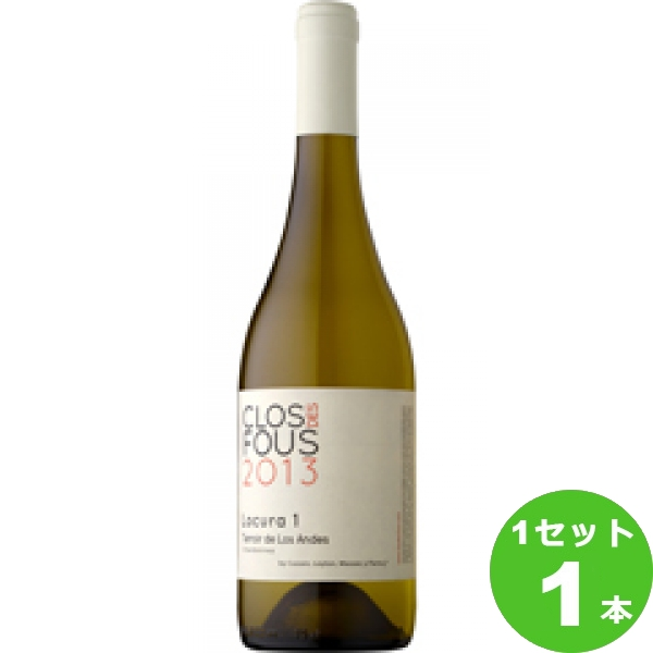 モトックス ChardonnayLocura1シャルドネロクラ・ウノ 750ml ×1本 チリ/セントラル・ヴァレー/ラペル・ヴァレー/カチャポアル・ヴァレー ワイン【取り寄せ品 メーカー在庫次第となります】