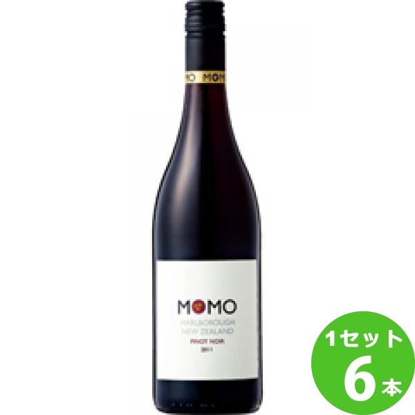 MomoPinotNoirモモピノ・ノワール 750ml ×6本 ニュージーランド/サウス・アイランド/マールボロ/ モトックス【メーカー取寄せ品】 ワイン