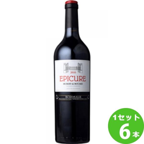 [ママ割5倍]Epicureエピキュア 750ml ×6本 フランス/ボルドー モトックス