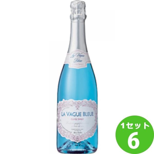 LaVagueBleueSparklingBlueCuveeSweetラ・ヴァーグ・ブルースパークリングキュヴェ・スイート 750ml ×6本 フランス/プロヴァンス モトックス ワイン