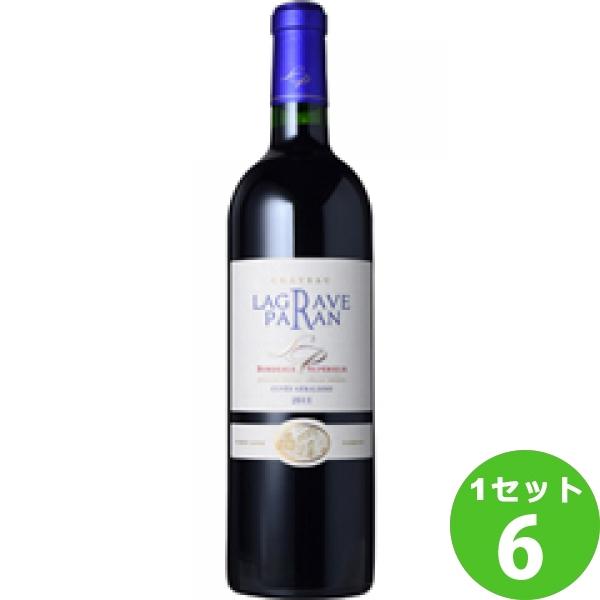 ChateauLagraveParanシャトー・ラグラーヴ・パラン 750ml ×6本 フランス/ボルドー モトックス ワイン