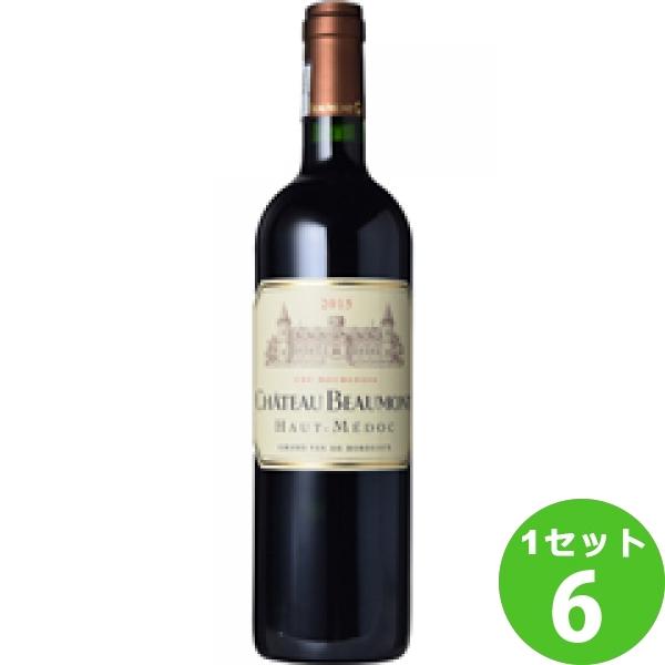 ChateauBeaumontシャトー・ボーモン 750ml ×6本 フランス/ボルドー/オー・メドック/ モトックス ワイン