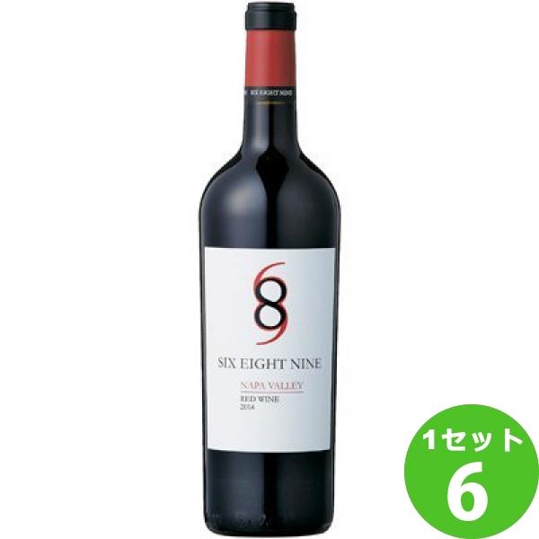 シックス エイト ナイン ナパ ヴァレー レッド 赤ワイン 750ml ×6本 ワイン【送料無料※一部地域は除く】