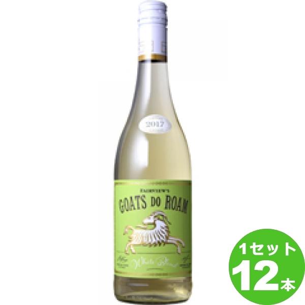 GoatsdoRoamWhiteゴーツ ドゥ ローム白 白ワイン 南アフリカ/ウエスタン ケープ 750ml ×12本(個) 【送料無料※一部地域は除く】