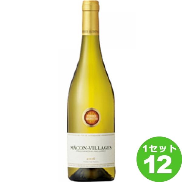 Macon-Vil La gesマコン ヴィラージュ 白ワイン フランス/ブルゴーニュ/マコネー/マコン ヴィラージュ 750ml ×12本(個) ワイン【送料無料※一部地域は除く】