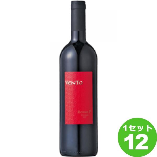 VentoRossoP(PrimitivoIGT) ヴェントロッソP 750ml ×12本 イタリア/プーリア ワイン【送料無料※一部地域は除く】