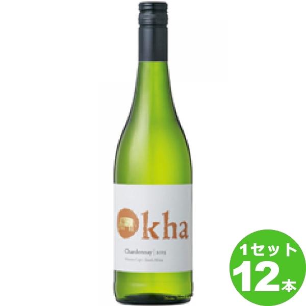 OkhaChardonnayオーカシャルドネ 750ml ×12本 南アフリカ/ウエスタン ケープ ワイン【送料無料※一部地域は除く】