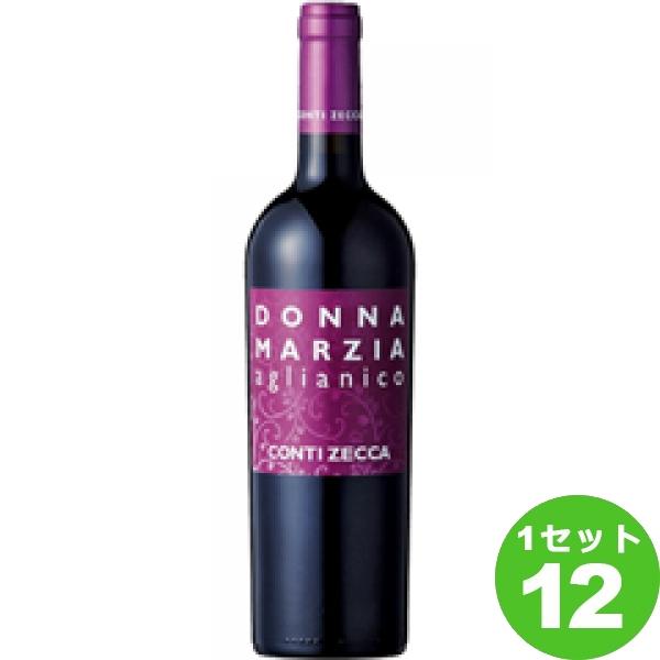 DonnaMarziaAglianicoドンナ マルツィアアリアニコ 750ml ×12本 イタリア/プーリア/サレント/ ワイン【送料無料※一部地域は除く】
