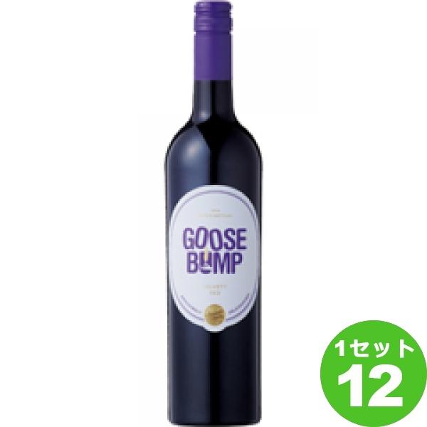 GooseBumpグース バンプ 750ml ×12本 イタリア/シチーリア ワイン【送料無料※一部地域は除く】