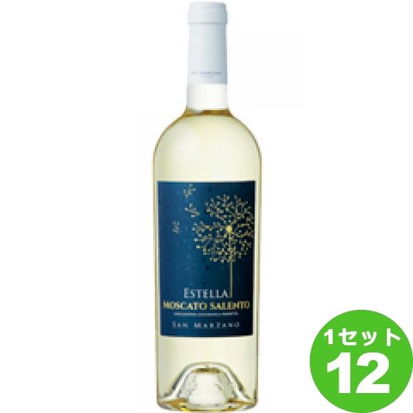Estel La MoscatoSalentoIGPエステッラモスカート 白ワイン イタリア/プーリア/サレント/ 750ml ×12本 ワイン【送料無料※一部地域は除く】