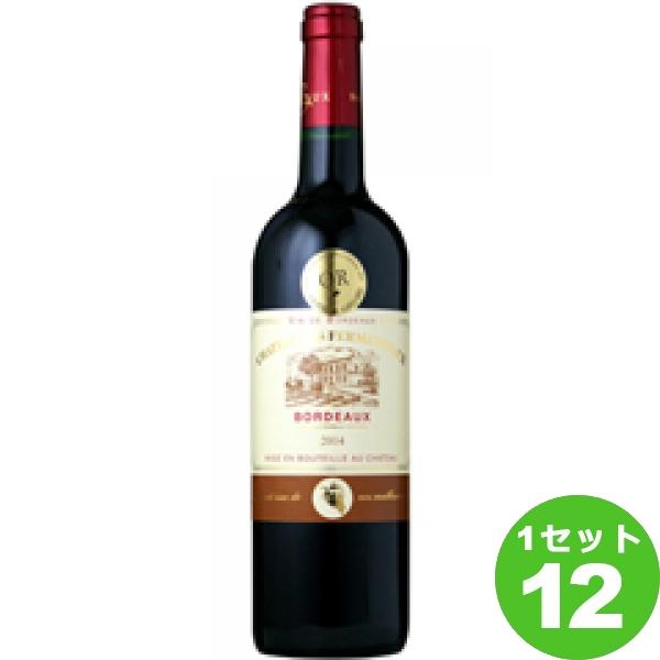 [ママ割5倍]モトックス ChateauLesFermenteauxシャトー・レ・フェルメントー 赤ワイン フランス/ボルドー750ml×12本(個) ワイン