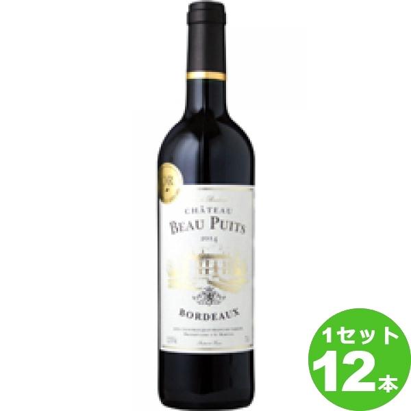 [ママ割5倍]モトックス ChateauBeauPuitsシャトー・ボー・ピュイ 赤ワイン フランス/ボルドー750ml×12本(個) ワイン