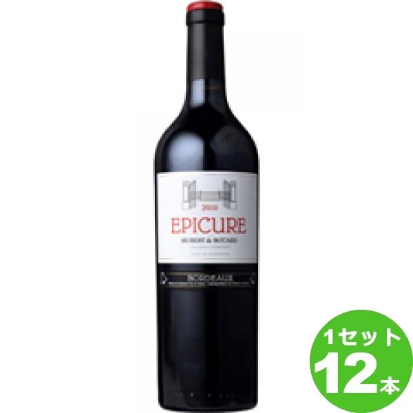 [ママ割5倍]Epicureエピキュア 750ml ×12本 フランス/ボルドー モトックス