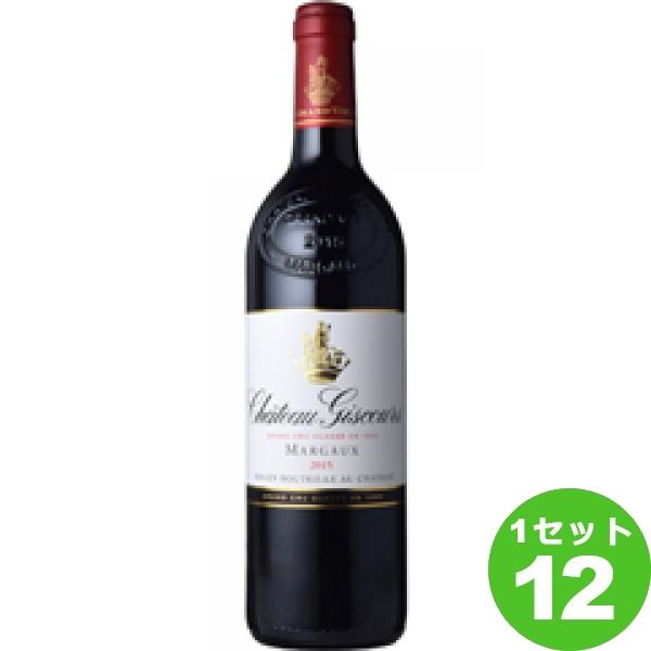ChateauGiscoursシャトー・ジスクール 750ml ×12本 フランス/ボルドー/オー・メドック/マルゴー モトックス ワイン