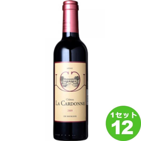 ChateauLaCardonneHalfシャトー・ラ・カルドンヌハーフ 375ml ×12本 フランス/ボルドー/メドック/ モトックス ワイン【取り寄せ品 メーカー在庫次第となります】