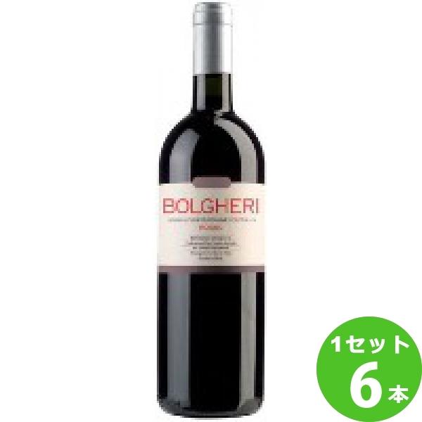 モンテ物産 グラッタマッコ ボルゲリ・ロッソ 赤ワイン イタリア/トスカーナ750ml×6本 ワイン【送料無料※一部地域は除く】【取り寄せ品 メーカー在庫次第となります】