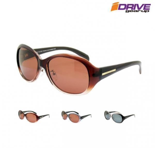 セルフレームにノーズパッドのついたモデル 鼻あてを調節できるのでフィット感アップ 高性能 偏光サングラス レディース UV400 世界の人気ブランド 高品質レンズでUV 紫外線カット 日焼け対策 アウトレット☆送料無料 セルフレーム 目もとケア ブランド オーバル アジアンフィット アイゾーン iDriveID-P440 大きいサイズ